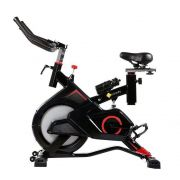 Bike Spinning Pelegrin PEL-2312 Preta e Vermelha