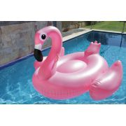 Boia Inflavel Gigante Especial Flamingo