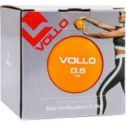 Bola Tonificadora 0.5 kg Exercicios Alongamento - VolloVP1060