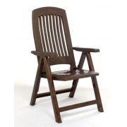 Cadeira Poltrona Reclinável Diamante Mogno - Bells