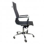 Cadeira Presidente PEL-1190H Giratória Preta