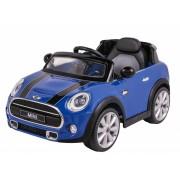 Carro Elétrico Mini Cooper com controle Remoto 12v Azul