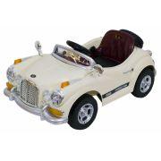 Carro Elétrico Retrô Infantil Com Controle Remoto - 6V