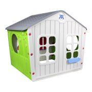 Casinha De Brinquedo Infantil Cinza - Belfix