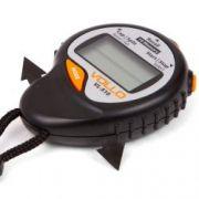 Cronômetro Eletrônico Vollo Com 10 Memorias - Preto E Laranja - VL510