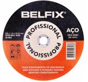 Disco De Corte Para Aço E Inox 9¨- Com 10 Unidades - Belfix