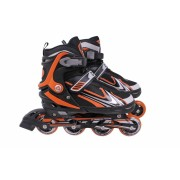 Inline Roller Patins Aluminium 500 - 34 a 38 - Cinza