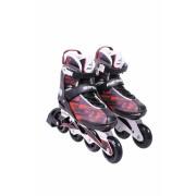 Inline Rollers Patins Flexxxxa Pro Mormaii Vermelho- 37