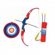 Kit Arco E Flecha De Brinquedo Infantil Com Alvo De Pontos