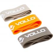 Kit De 3 Faixas Elásticas Mini  Bands Circulares - Vollo Vp1007