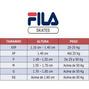 Kit De Proteção Fila Fitness FP Preto - G