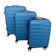 Kit Mala de Viagem 3 em 1 Pelegrin PEL-8103 Azul