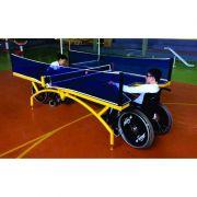 Kit Tenis de Mesa ( Ping Pong ) Master Adaptada Acompanha Raquetes E Rede – Fácil Esporte