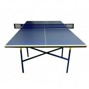 Kit Tênis De Mesa ( Ping Pong ) Standard Com Mesa Raquetes E Rede - Fácil Esporte