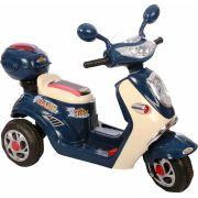 Lambreta Eletrica Infantil 6V - Azul