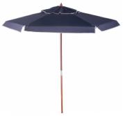 Ombrellone De Madeira Cobertura Em PVC Bagum  2,00 M Azul