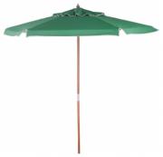 Ombrellone De Madeira Cobertura Em PVC Bagum  2,00 M Verde