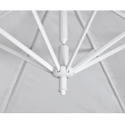 Ombrellone Suspenso em Poliéster Branco Búzios 3x3 mt Bel Fix