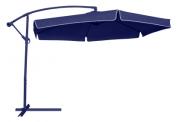 Ombrelone Suspenso Poliéster Azul com Alavanca (300x300cm) - Bel Fix