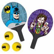 Par De Raquetes Ping-Pong + 3 BOLAS Tenis De Mesa - Joker & Batman: The Face