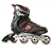 Patins Fila Helix ABEC 5 - Preto E Vermelho ( 39 )