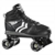 Patins Fila Quad Roll Verve Black ABEC 7 Preto E Branco - 36