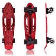 Skate Cruiser Red Chrome - Kronik Vermelho