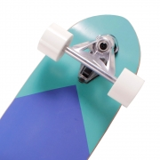 Skate Swingboard Simulador de Surf  9 Laminas Abec-5 Bel