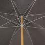 Ombrellone Guarda Sol De Madeira Cobertura Em Pvc Bagum  2,00 M Marron