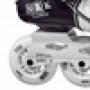 Patins Fila NRK Carbon ABEC  9 - Preto E Branco ( 40 )