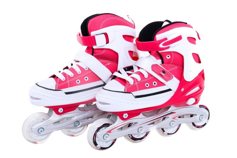 Patins  All Style Street Rollers - M ( 33 -36 ) Vermelho