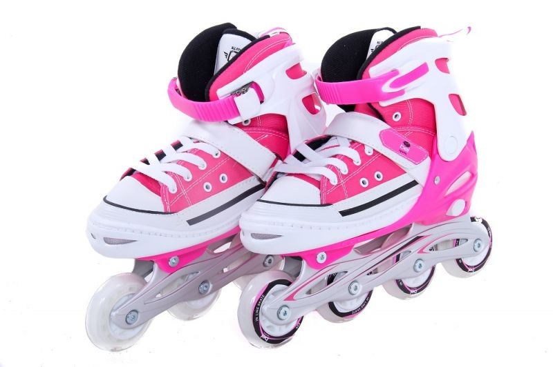 Patins All Style Street Rollers - P ( 29-32 ) Rosa