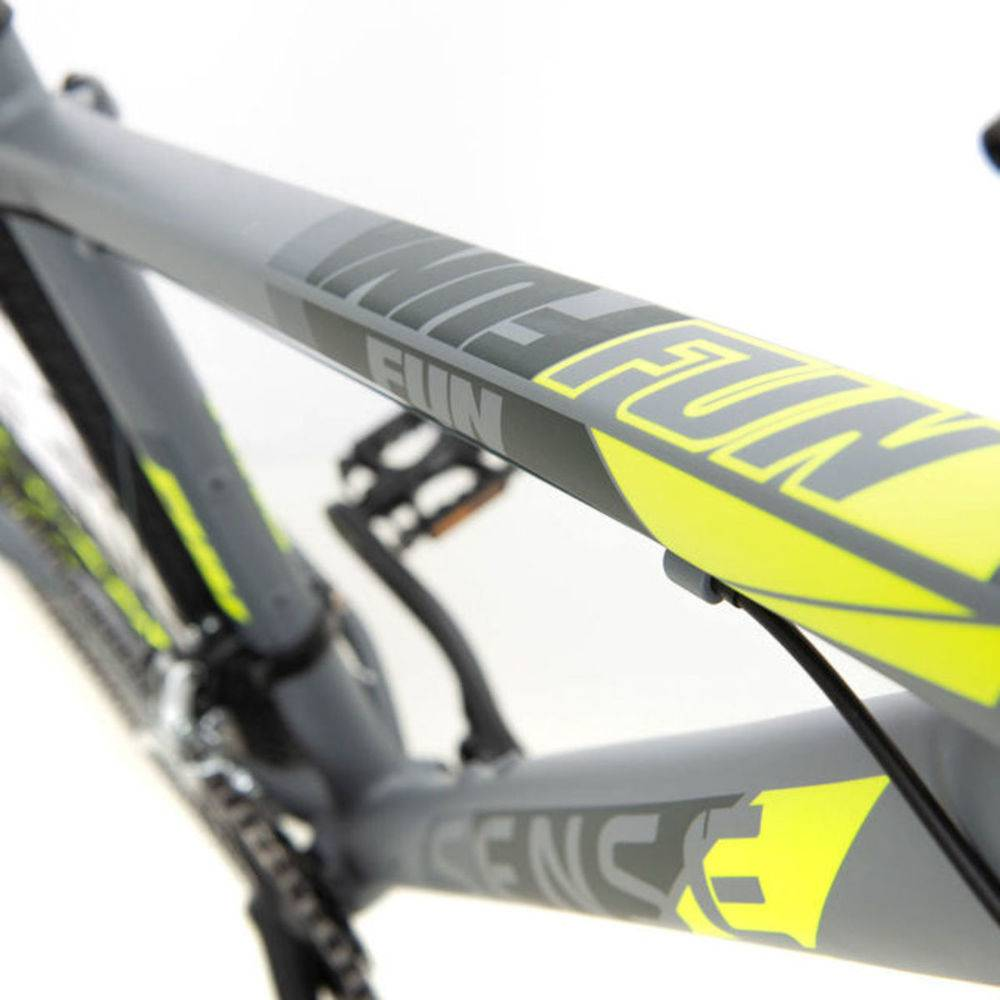 Bicicleta MTB Fun Sense Amarela 2020 - Tamanho L