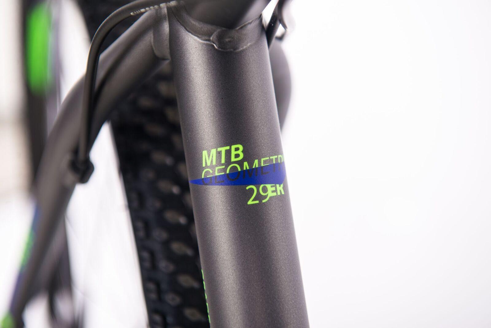 Bicicleta MTB fun Verde E Azul - Sense