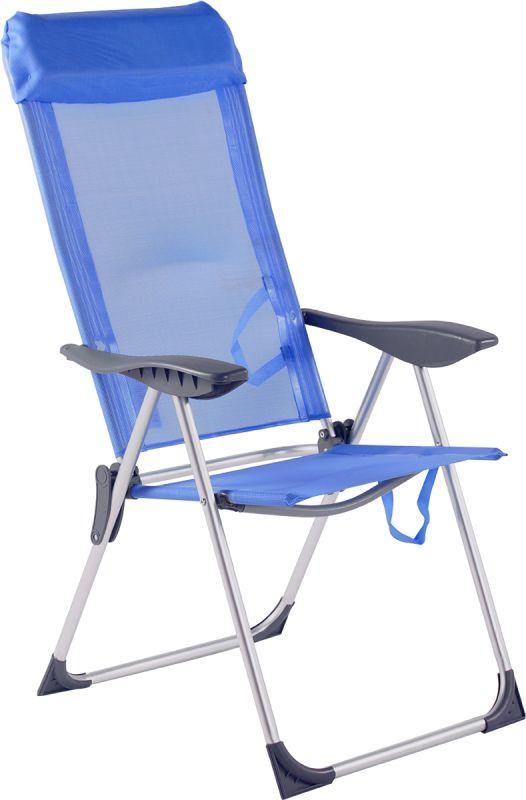 Cadeira Alta 5 Posições De Alumínio + Brinde Guarda Sol Clamp ( Cores Sortidas )