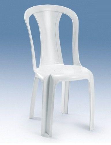 Cadeira Bistrô Ametista Sem Braço Branca - Bells