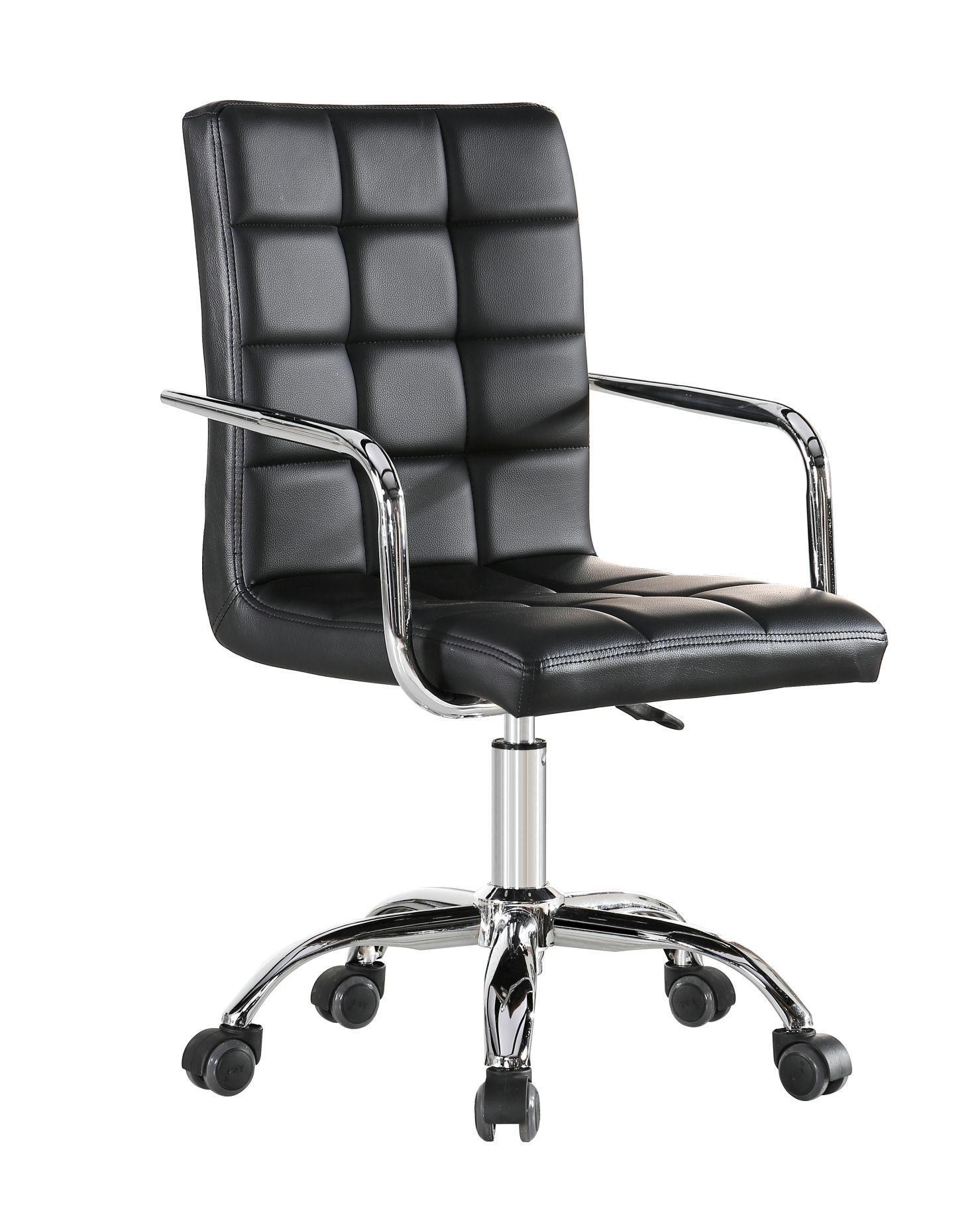 Cadeira Diretor Pelegrin Pel-1102 Couro Pu Preta
