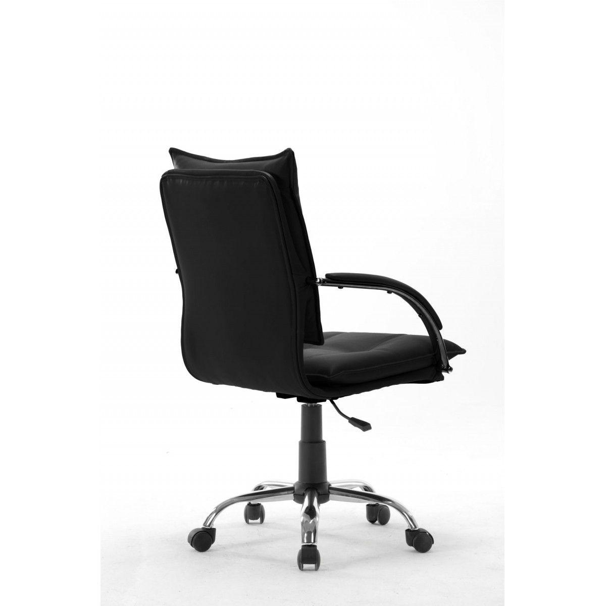 Cadeira Diretor Pelegrin Pel-280 Couro Pu Preta