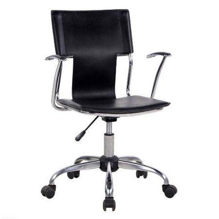 Cadeira Diretor Pelegrin Pel-6011 Couro Pvc Preta