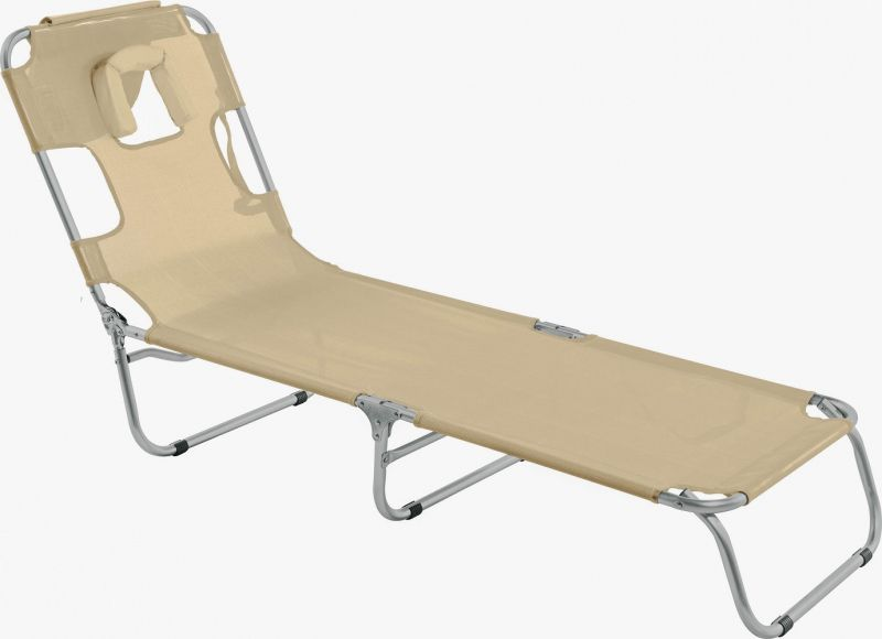 Cadeira Espreguiçadeira Mormaii com Travesseiro Areia