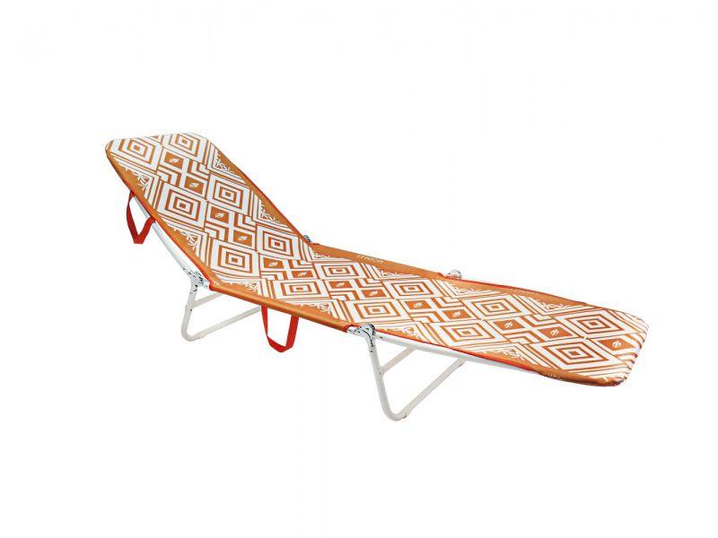 Cadeira Espreguiçadeira Mormaii - Laranja