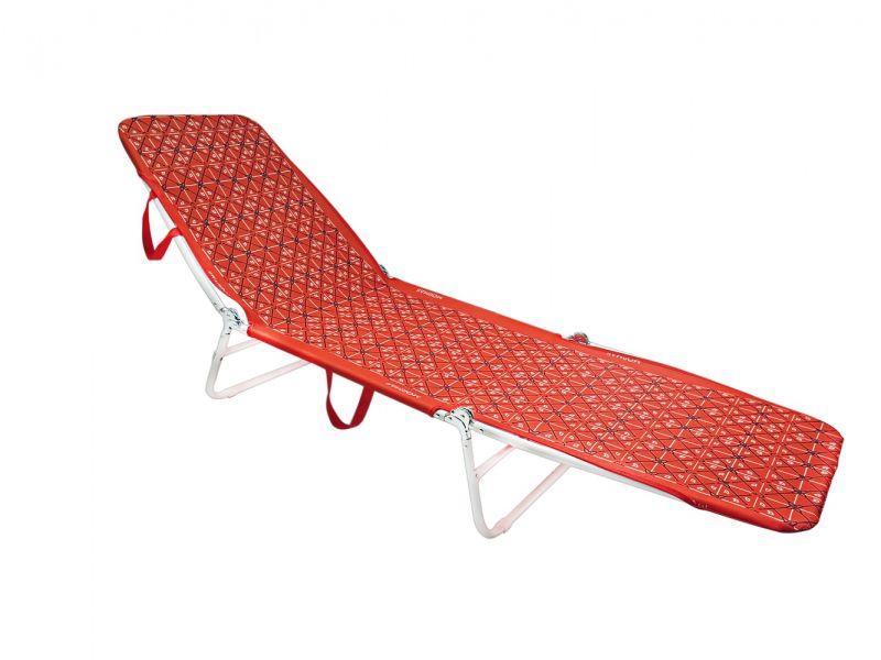 Cadeira Espreguiçadeira Mormaii - Vermelha