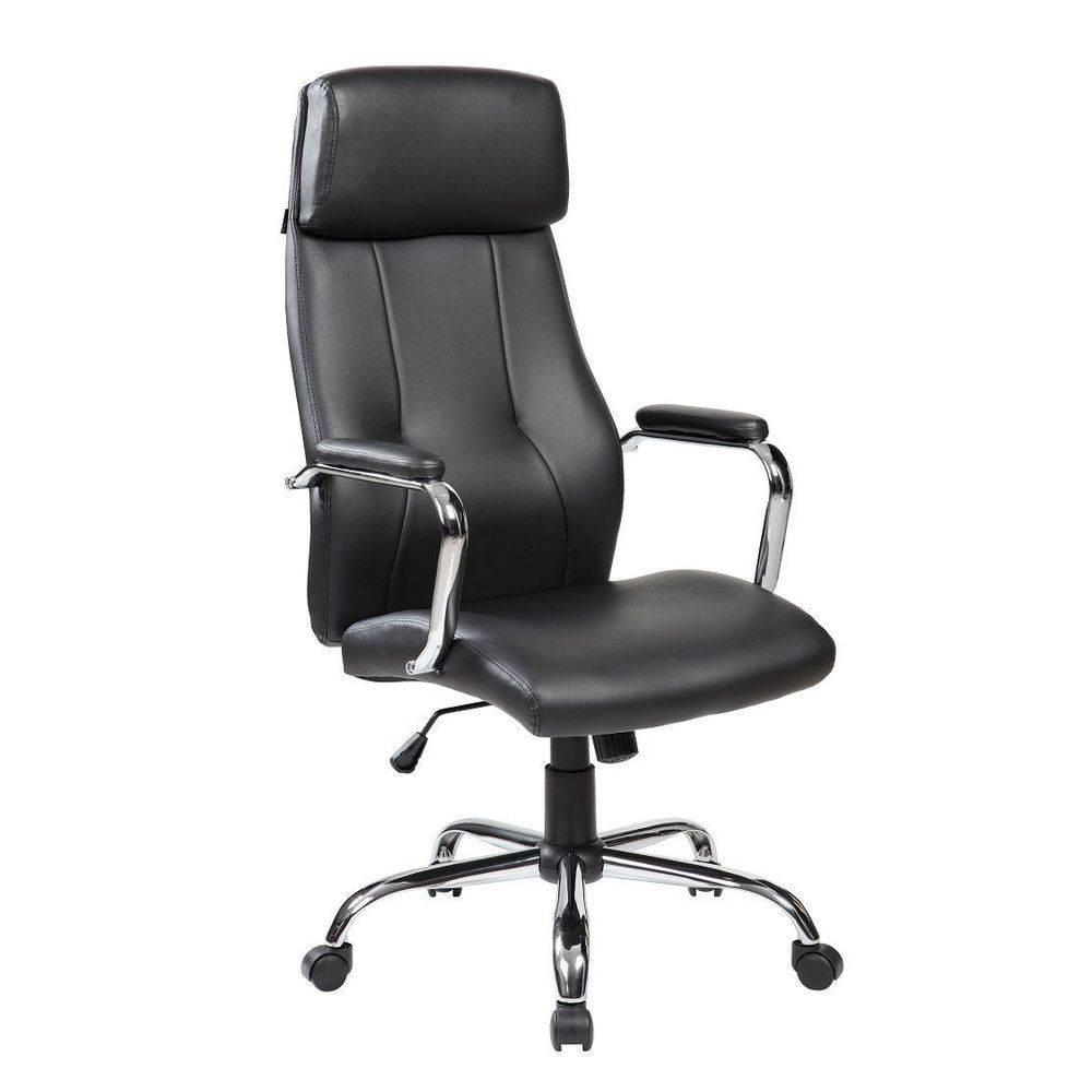 Cadeira Presidente Giratória E Sistema Relax PEL-9027 - Preta