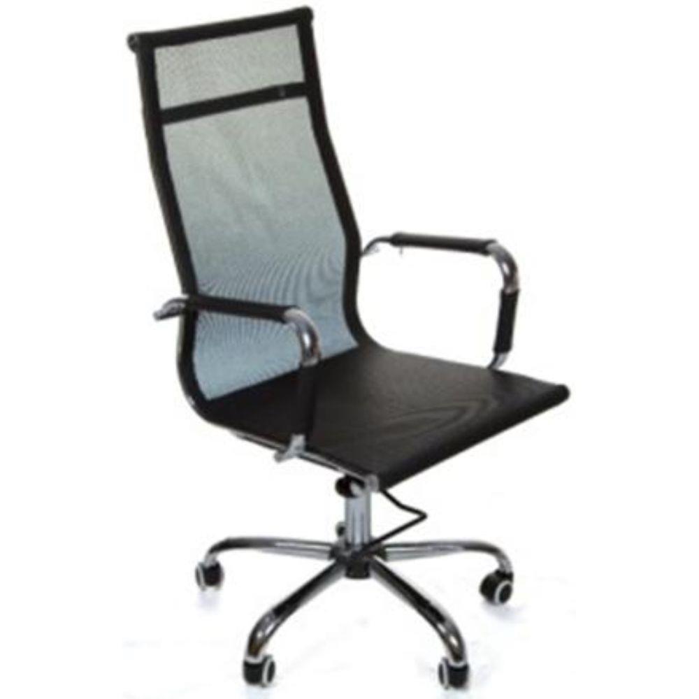 Cadeira Presidente Pelegrin Pel-7010H Tela Mesh Preta