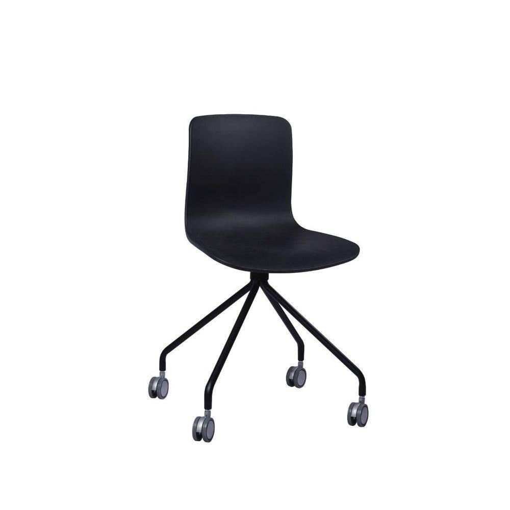 Cadeira Secretária Pelegrin PEL-X810 Preta