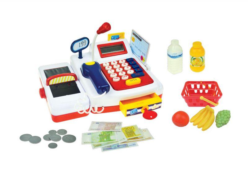 Caixa Registradora Infantil Com Esteira E Scanner