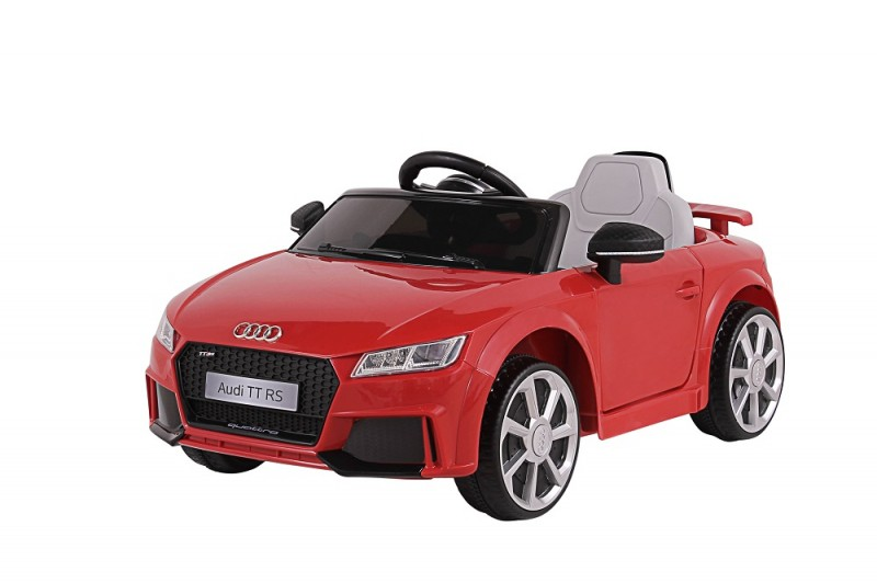 Carro Elétrico Infantil Com Controle Remoto Audi TT RS - Vermelho