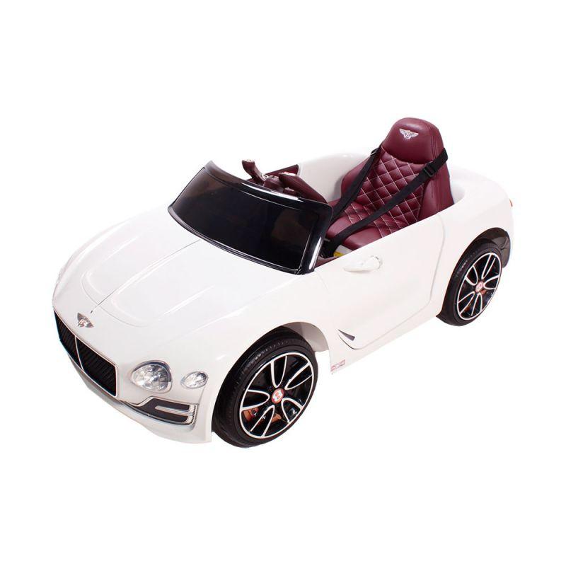 Carro Elétrico Infantil Com Controle Remoto Bentley  12 Volts - Branco