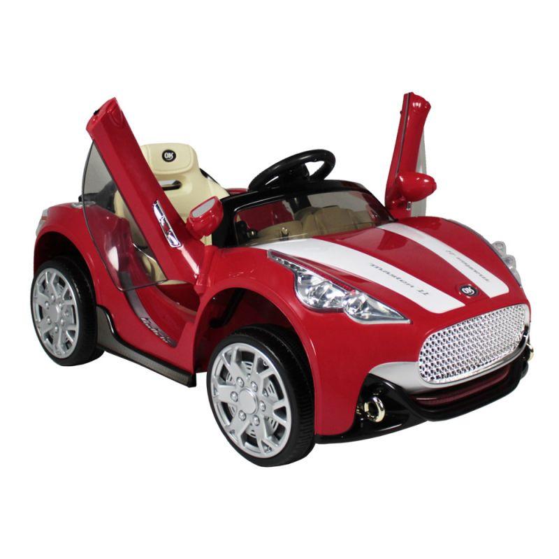 Carro Elétrico Infantil Conversível 12V Com controle Remoto - Vermelho