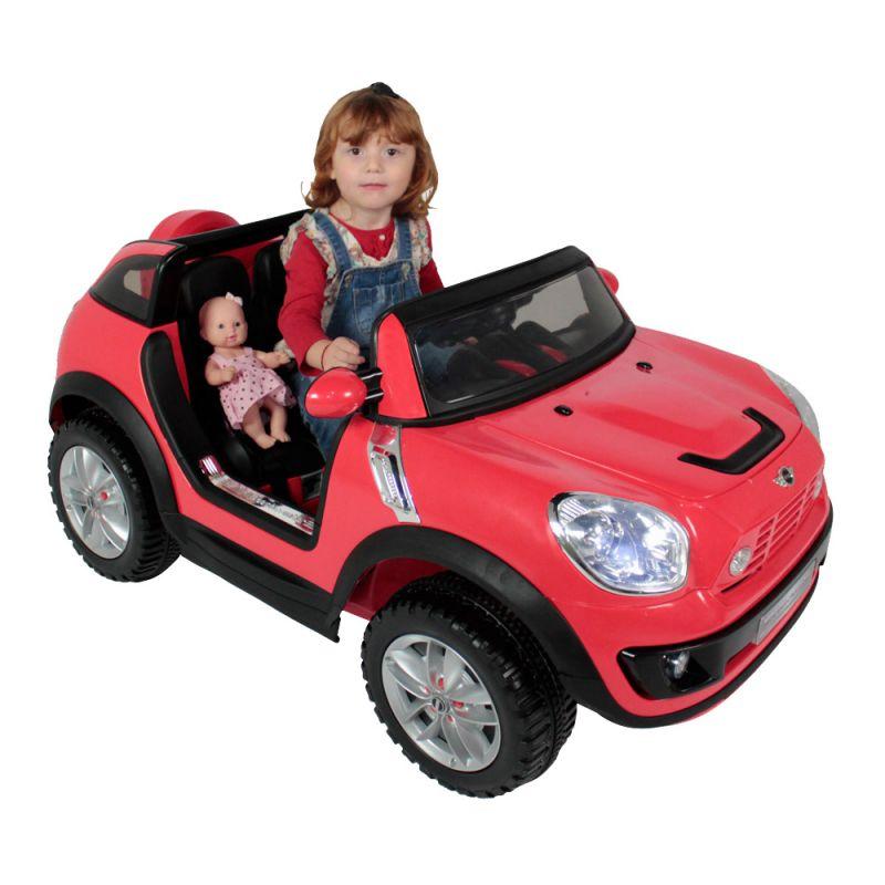 Carro Elétrico Mini Beachcomber - 2 Lugares - 12 V Vermelho
